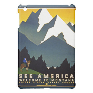 See America - Welcome to Montana Cover For The iPad Mini