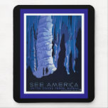 See America WPA Poster Series Mousepad