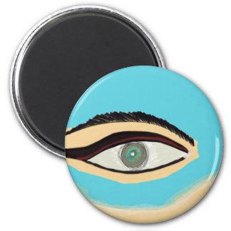 See blue magnet