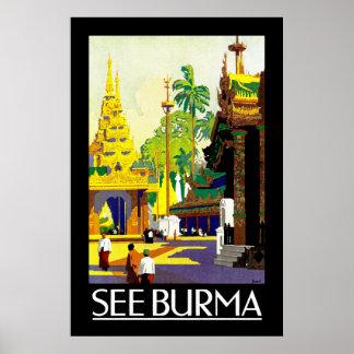 See Burma Poster