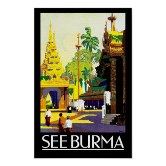 See Burma Posters