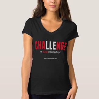 See Change Within Challenge Women's V-Neck Tshirt