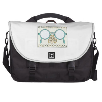 See Clearer Now Laptop Bag
