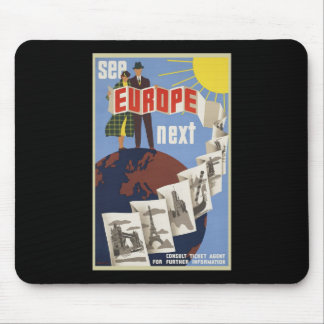 See Europe Next Mouse Pad