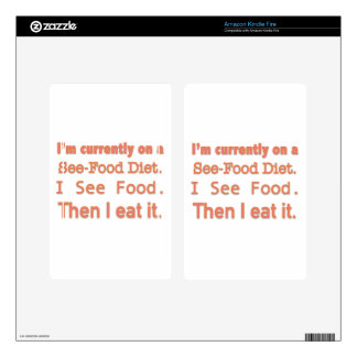 See-Food Diet Skin For Kindle Fire