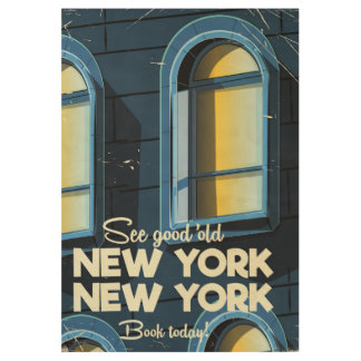 See Good Old New york travel poster