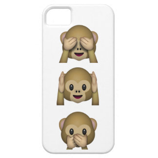 See Hear and speak no evil iPhone Case 5 5S iPhone 5/5S Covers