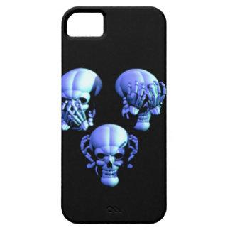 See Hear Speak No Evil Skulls iPhone 5 Case iPhone 5 Cases
