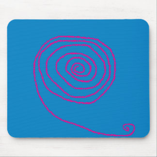 See how your mouse moves. mouse pad