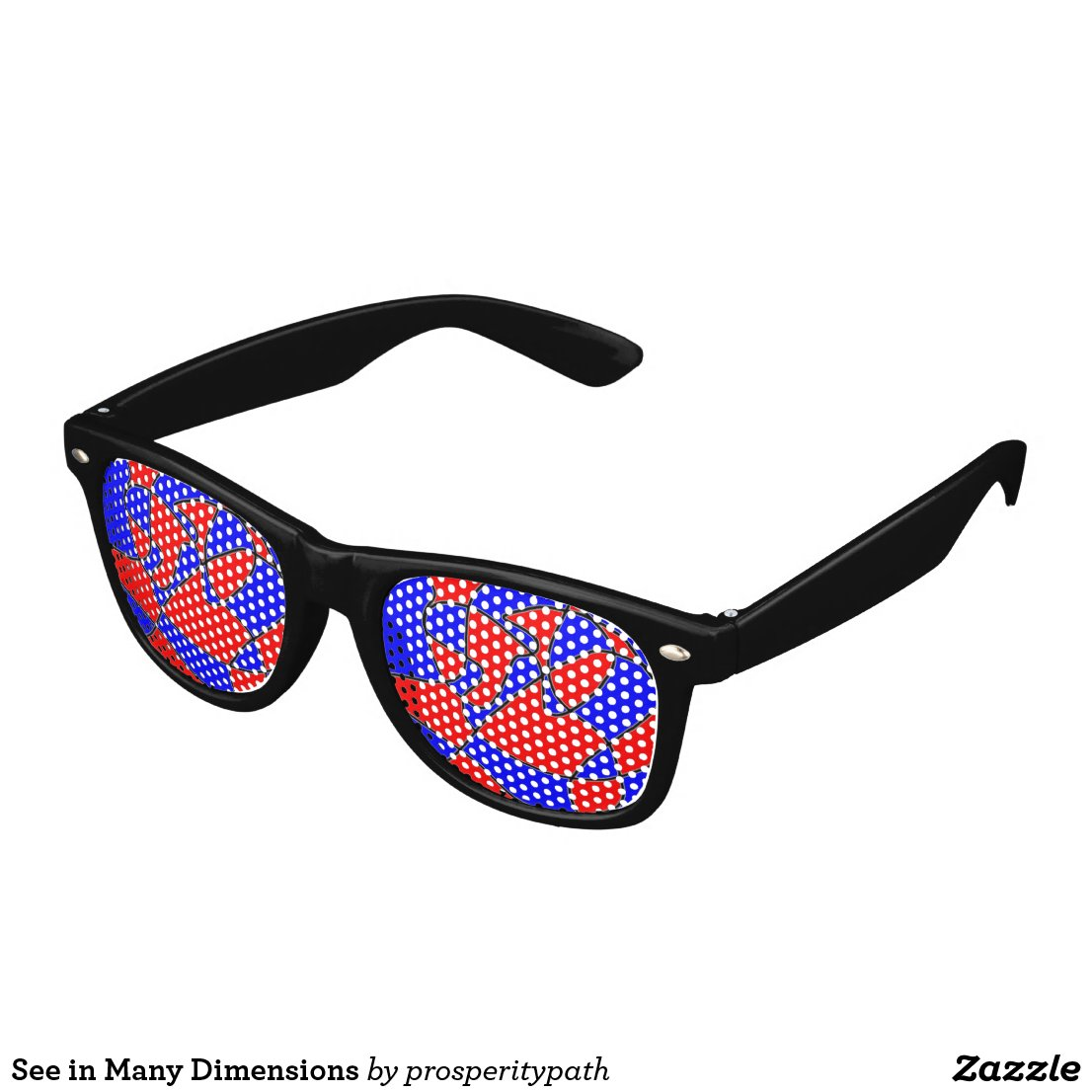 See in Many Dimensions Retro Sunglasses