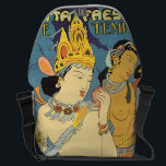 """See India Cave Temples Vintage Travel Poster Messenger Bag<br><div class=""""desc"""">This product features See India Cave Temples vintage travel poster artwork. Like this design,  but you want to tweak it? Just click on &quot;Customize&quot; to add text or adjust things to your liking.</div>"""