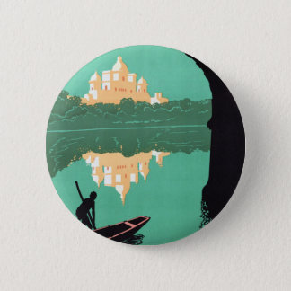 See India Chattar Manzil Palace Asia Vintage Pinback Button