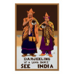 See India ~ Darleeling Poster
