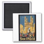 See India Poster Magnet