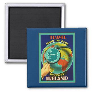See Ireland ~ Vintage Irish Travel Magnet