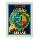 See Ireland ~ Vintage Irish Travel Poster