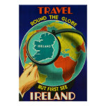 See Ireland ~Vintage Irish Travel Poster.