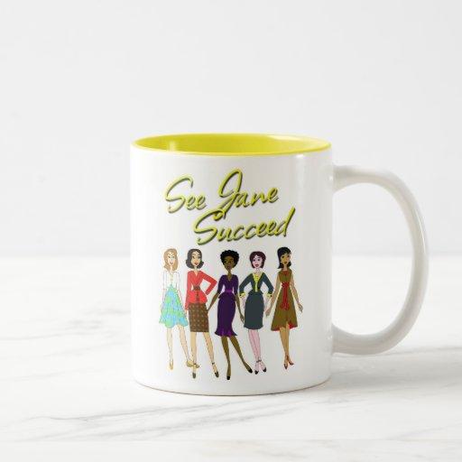 See Jane Succeed! Mug