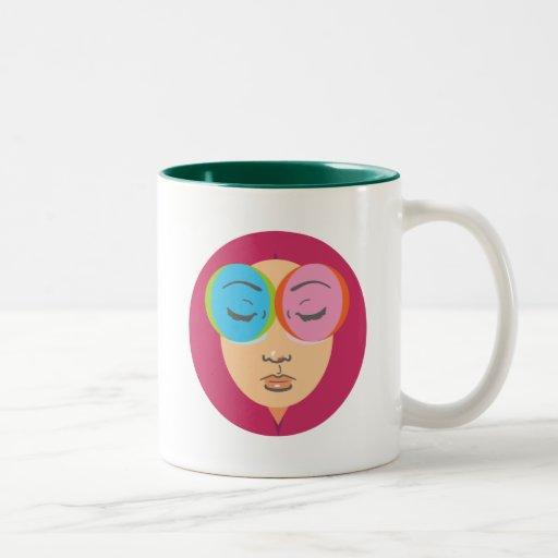 See Like I Do Two-Tone Coffee Mug
