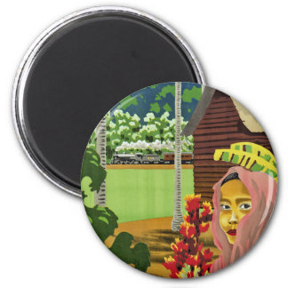See Malaya 2 Inch Round Magnet