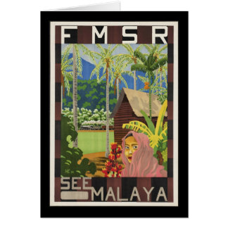See Malaya Greeting Card