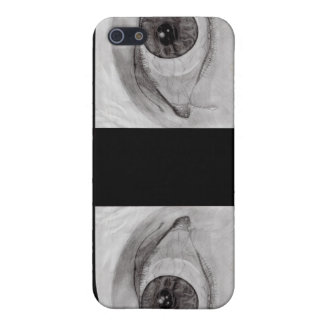 See Me (black) iphone4 case Cover For iPhone 5