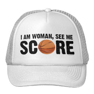 See Me Score - Basketball Hat
