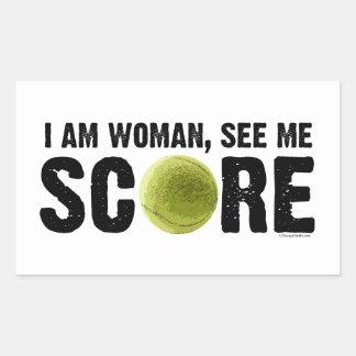 See Me Score - Tennis Sticker