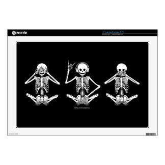 "See No Evil... 17"" Laptop Decal"