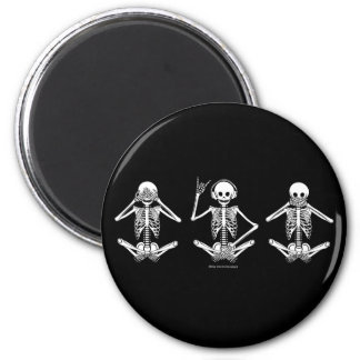 See No Evil... 2 Inch Round Magnet