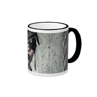 See No Evil Gothic Art Mug
