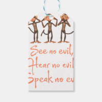 See no evil - hear no evil - speak no evil -