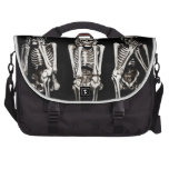 See No Evil, Hear No Evil, Speak No Evil Skeletons Bags For Laptop