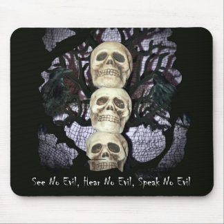 See No Evil Mouse Pad