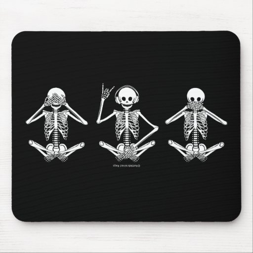 See No Evil... Mouse Pad