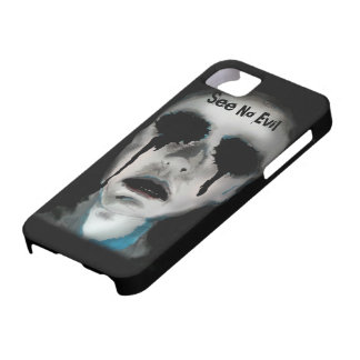 'See No Evil' print on an iPhone 5 Case
