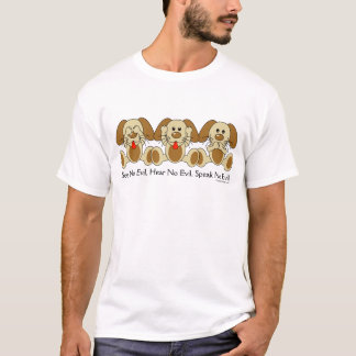 See No Evil Puppies T-Shirt