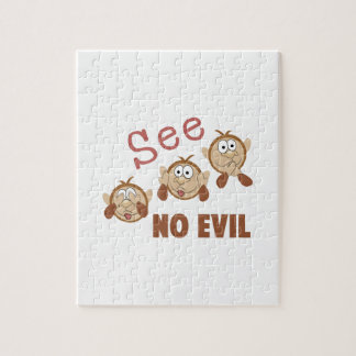 See No Evil Jigsaw Puzzles