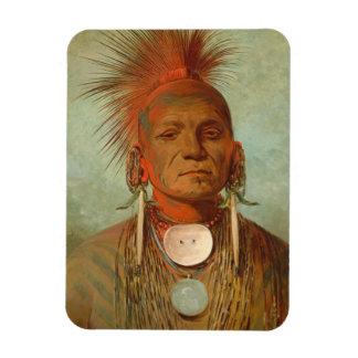 See-non-ty-a, an Iowa Medicine Man, 1844 Magnet