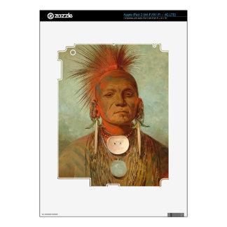See-non-ty-a, an Iowa Medicine Man, 1844 Skin For iPad 3