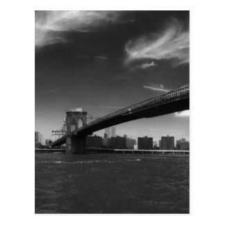 see on 2 products Panoramic Black White Brooklyn Postcard
