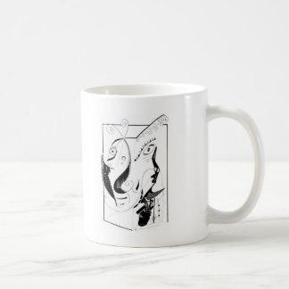 See or not coffee mug