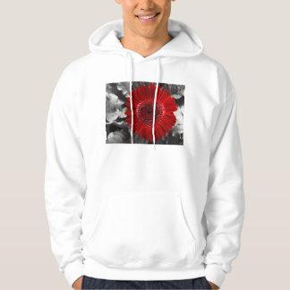 see red hoodie