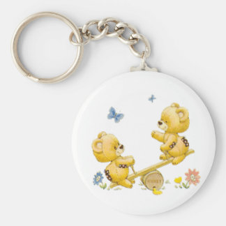 See Saw Bears Keychain