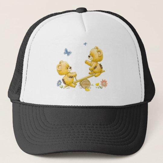 See Saw Bears Trucker Hat