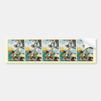 See-saw, Margery Daw, Bumper Sticker