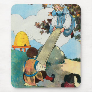 See-saw, Margery Daw, Mouse Pad