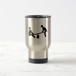 See Saw 15 Oz Stainless Steel Travel Mug