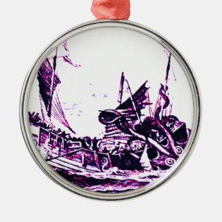 See Sea monster Metal Ornament