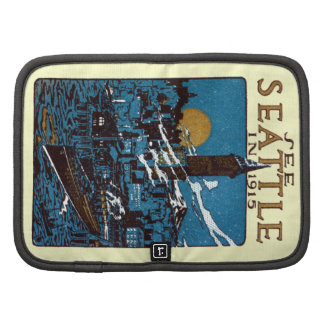 See Seattle in 1915 Folio Planners